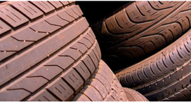 Part worn and used tyres