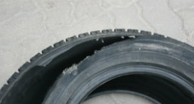 What causes car tyres to burst?