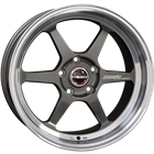 Borbet DB8GT graphite rim polished 8,50x18 5x108,00 ET40,00