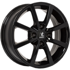 itWHEELS Alisia Gloss Black 6,50x16 4x108,00 ET26,00