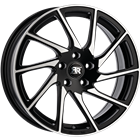 Racer TURN Black Polished 7,50x17 4x108,00 ET25,00