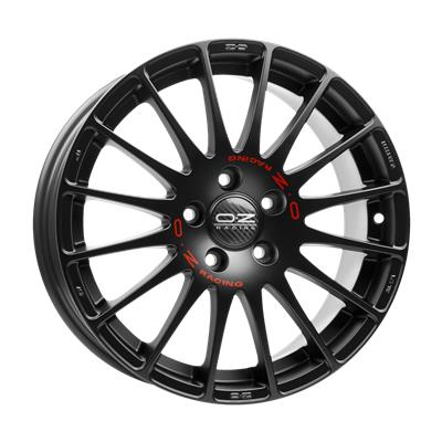 oz superturismo gt black alloy wheels free delivery. Black Bedroom Furniture Sets. Home Design Ideas